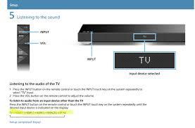 soundbar ht xt1 question on optical input sony
