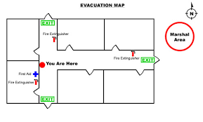 evacuation floor plan template how to create an emergency evacuation map for your business
