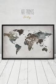 World Map Prints by 97 Best Watercolor Maps Images On Pinterest Maps Posters