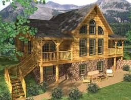 cabin plan castlerock log cabin plan by honest abe log homes inc