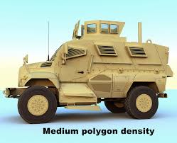 mrap mrap vehicle 3d model