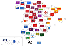 Spain Flags Province Flags Of Spain 1600 1112 Mapporn