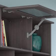 cabot lateral file cabinet in espresso oak bush furniture cabot corner desk office suite in heather gray