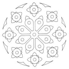 download simple printable mandala coloring pages or print simple