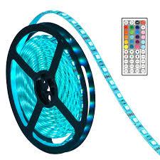 Remote Led Light Strips by Amazon Com Led Lights Strip Oak Leaf Smd5050 Waterproof 16 4ft