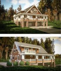 front sloping lot house plans house plans for downward sloping lots steep slope house plans