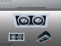 Adjustable Recessed Downlights Dl706 Series Adjustable Recessed Lighting Par16 Focus De