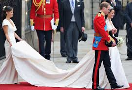 Middleton Pippa by Kate Middleton U0027s Mcqueen Gown Deemed A