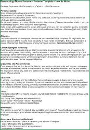 Reverse Chronological Order Resume Example by 12 Dermatology Resume Sample Applicationsformat Info