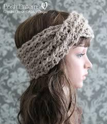 crochet hairband crochet pattern crochet headband pattern turban headband