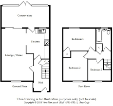 Althorp House Floor Plan 3 Bedroom Detached House For Sale In Althorp Drive Penarth Vale