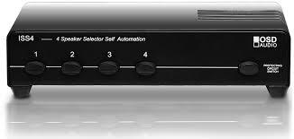 speaker selector 4 pair high power osd iss4