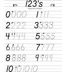 practice writing numbers worksheets worksheets