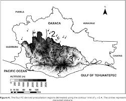 Map Of Oaxaca Mexico by Variability Of Extreme Precipitation In Coastal River Basins Of
