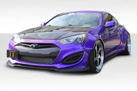 2016 hyundai genesis coupe sports cars 13 16 fits hyundai genesis circuit duraflex full body kit