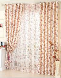 aliexpress com buy window curtain for living room floral curtain