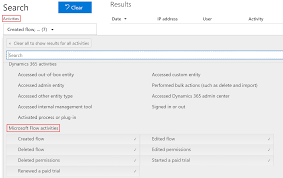 microsoft flow audit events now available in office 365 security