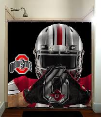 Ohio State Curtains Collage Ncaa Football Fatboy Studio