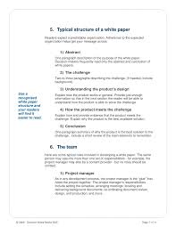 white paper report template how to write a white paper