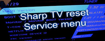 tv l reset 3 ways to reset tvs sharp tv fix review youtube