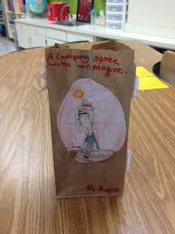 paper bag book report template education essay buy college papers the best academic