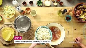 Kitchen Crank Recipe Drunken Cauliflower Tacos Recipe From Thug Kitchen Youtube