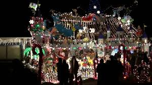 christmas light park near me rohnert park christmas lights cielo circle youtube