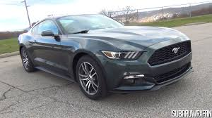2015 ford mustang ecoboost premium in depth tour