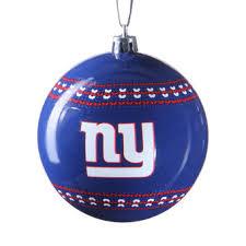 new york giants holiday décor giants christmas ornaments ny