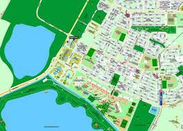 Map Of Singapore Tampines Map Map Of Tampines Singapore Republic Of Singapore