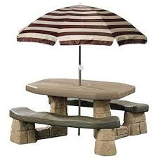 little kids picnic table kids picnic tables step2 naturally playful picnic table with
