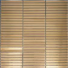 stainless steel mosaic tile backsplash strip gold metal mosaic wall tiles backsplash smmt052 stainless