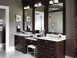 Bathroom Vanity Outlet Bathroom Wonderful Bathroom Vanity With Makeup Station Height