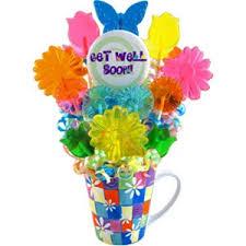 lollipop bouquet flowers get well lollipop bouquet