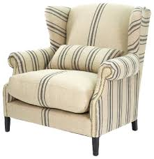 Wing Back Armchairs Napoleon Armchair Traditional Armchairs And Accent Chairs By