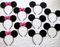 gallery for minnie mouse ears headband template clip art library