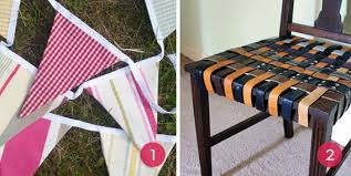 Upcycle Old Tshirts - roundup 10 diy decor projects made from old clothing curbly
