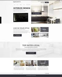 interior design website templates mobile responsive web designs