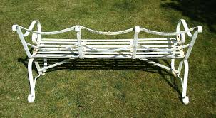 vintage wrought iron garden bench default name lowes black wrought