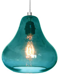 aqua glass pendant light aqua glass pendant light in home designs