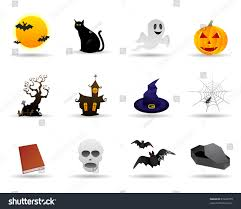 icon halloween halloween friendly vector icon stock vector 87642079 shutterstock