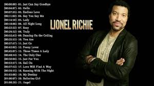 Lionel Richie Greatest Hits Best Of Lionel Richie The Best Of