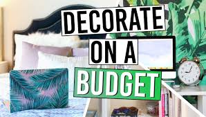 How To Decorate Your Home On A Budget How To Decorate Your Room On A Budget Youtube