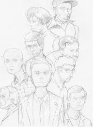serial killers uncolored sketch by mythology1 on deviantart
