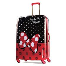 amazon american tourister disney minnie mouse red bow