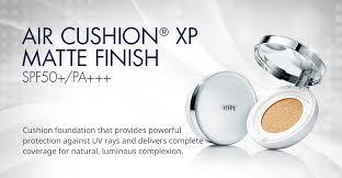 air cushion xp matte finish spf50 pa no 13 no 21 and no 23