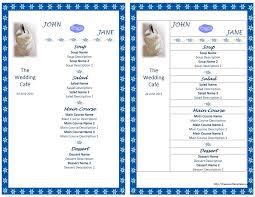 menu template word lisamaurodesign