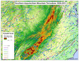 Mountain Ranges World Map by Tornadoes Don U0027t Happen In Mountains Or Do They Debunking The