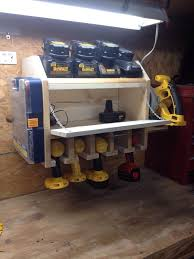 Build Your Own Charging Station 91 Best Tool Charging Stations Images On Pinterest Workshop