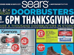 black friday circular advertisement for sears now kshb